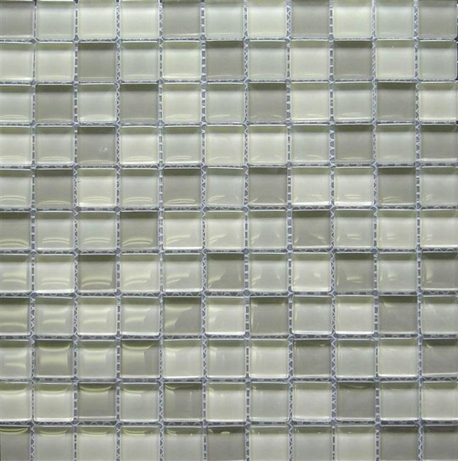 Wild Coast Multi 1x1 Shiny Glass Mosaic