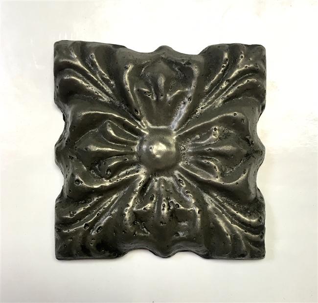 Rosario 3x3 Copper Resin Decorative Insert Accent Craft